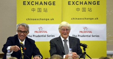 Sir David Tang and Sir Michael Parkinson