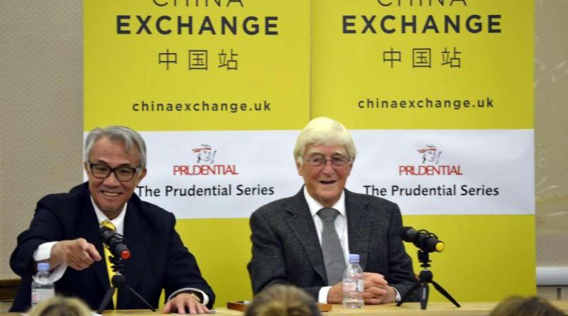 Sir David Tang and Sir Michael Parkinson