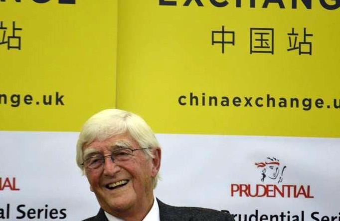 Sir Michael Parkinson at China Exchange