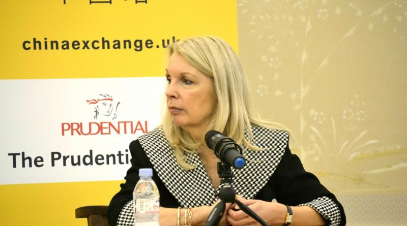 Amanda Nevill at China Exchange