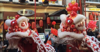 Chinese New Year Lions