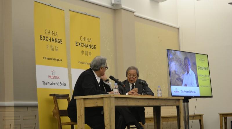 Adrian Zecha and Sir David Tang