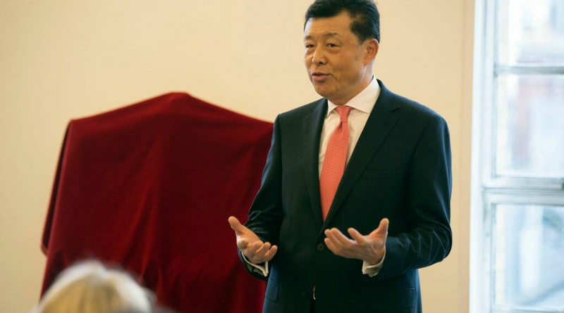 HE Ambassador Liu Xiaoming, the Chinese Ambassador the UK