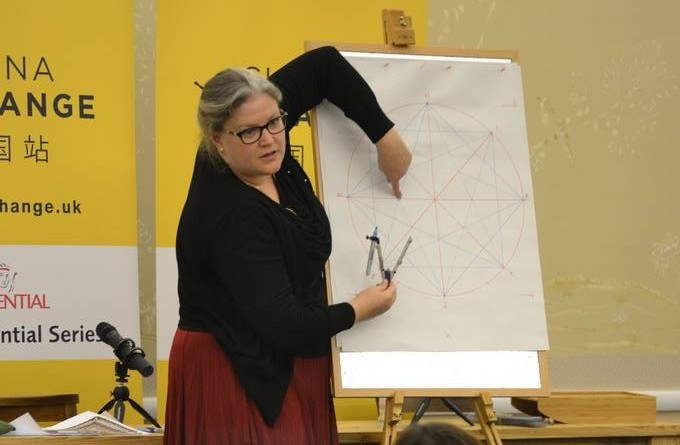Drawing class with the Prince's School of Traditional Arts
