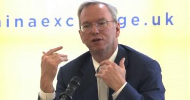 China Exchange Eric Schmidt