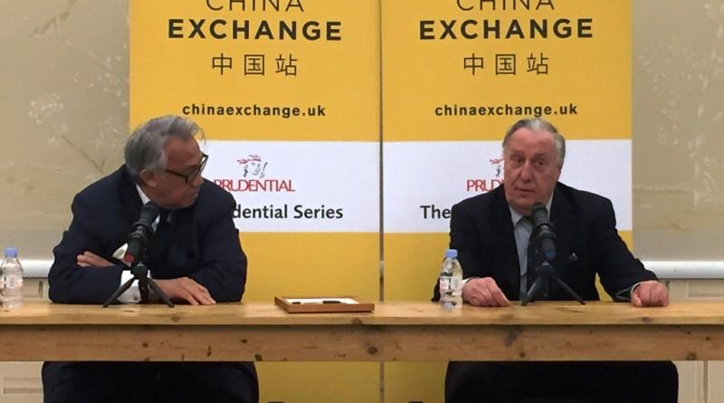 Fredrick Forsyth at China Exchange
