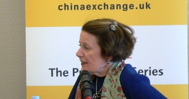 Lady Keswick at China Exchange