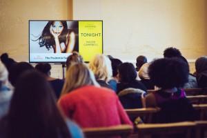 Audience, Naomi Campbell at China Exchange Photo Credit Neil Raja