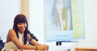 Naomi Campbell at China Exchange Photo Credit Neil Raja