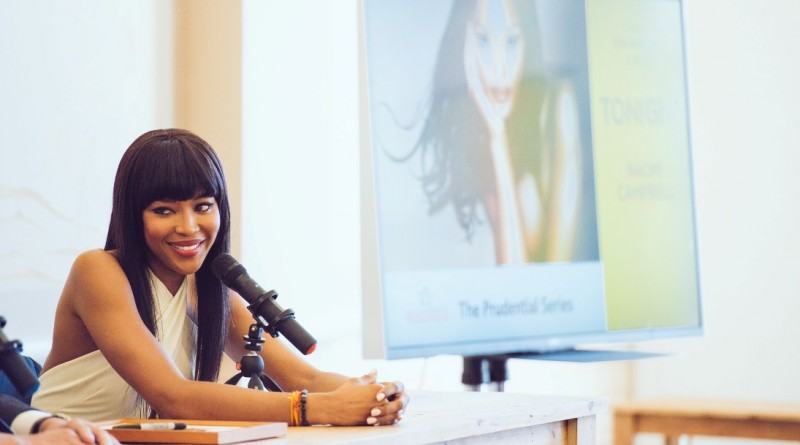 Naomi Campbell at China Exchange Photo Credit Neil Raja