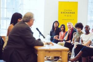 Naomi Campbell and Sir David Tang at China Exchange Photo Credit Neil Raja