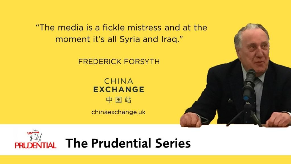 Pull Quote Slides - Frederick Forsyth