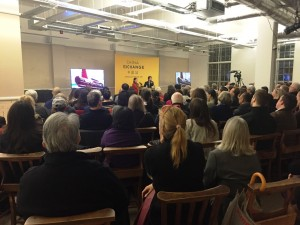 Audience at Michael Wood event