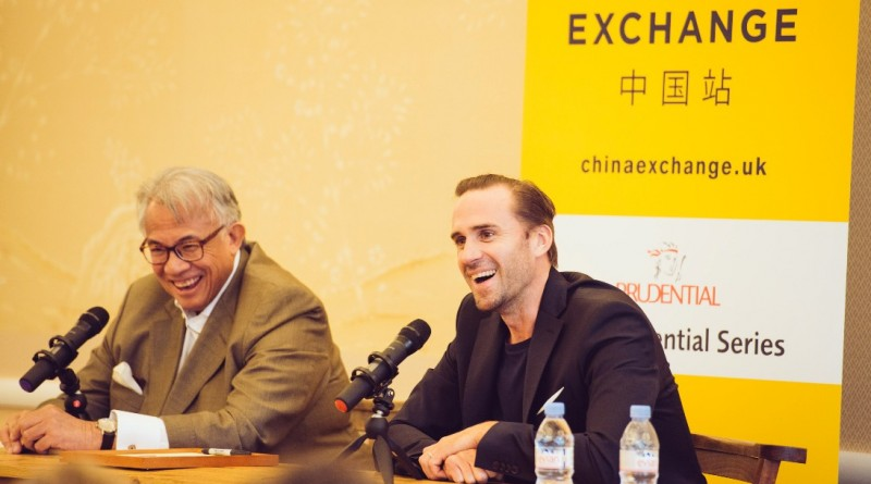 Joseph Fiennes at China Exchange Photo by Neil Raja