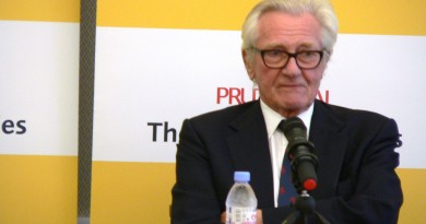 Lord Heseltine at China Exchange