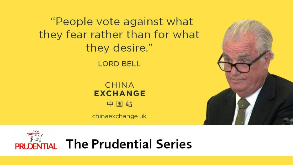 Lord Bell quote: People vote against what they fear rather than for what they desire