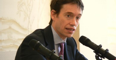 Rory Stewart at China Exchange