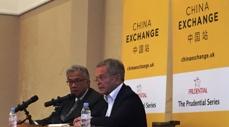 Simon Murray at China Exchange