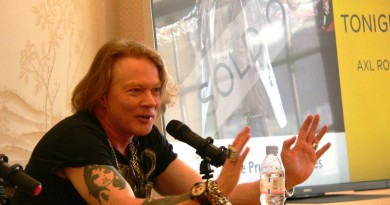 Axl Rose at China Exchange