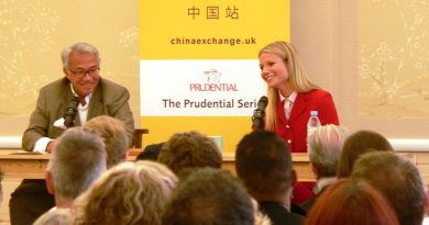 Gwyneth Paltrow at China Exchange