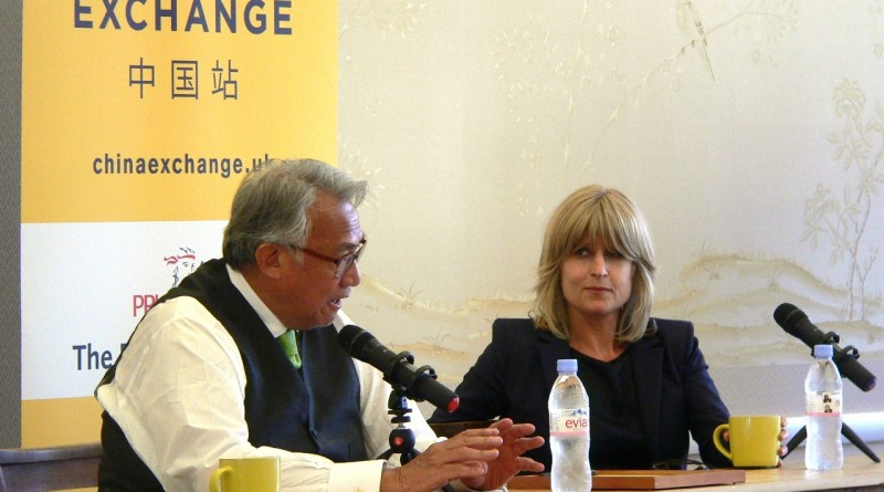 Rachel Johnson at China Exchange