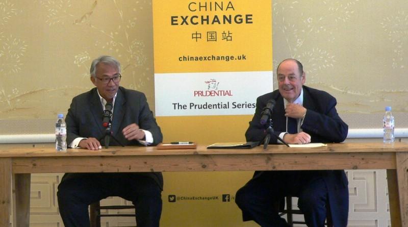 The Rt Hon Sir Nicholas Soames MP at China Exchange