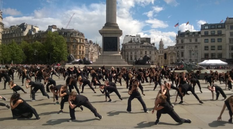 BIG DANCE TRAFALGAR SQUARE PERF