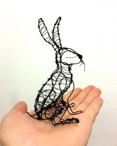 Hare in the hand