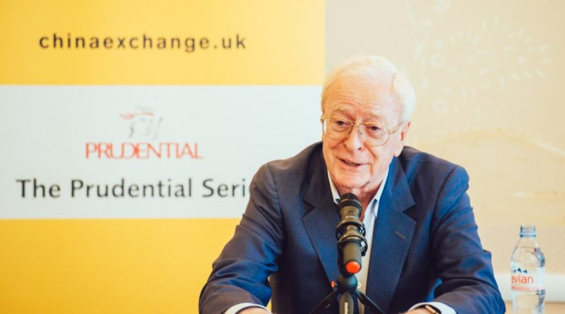 MICHAEL CAINE EVENT PHOTO