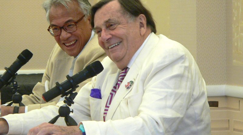 Barry Humphries at China Exchange