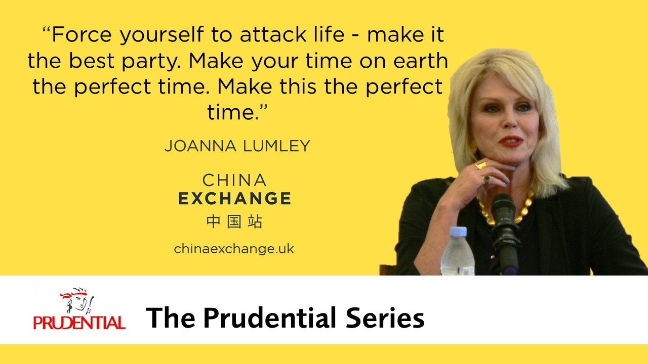 Joanna Lumley - Pull Quote Slide