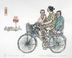 MET bicycle print