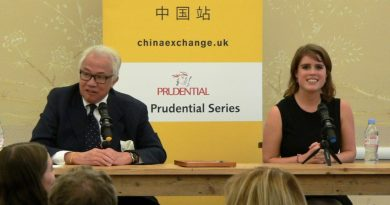 Sir David Tang and HRH Princess Eugenie