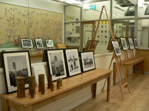 The exhibition of objects and photographs from the Chinese Labour Corps on display at China Exchange