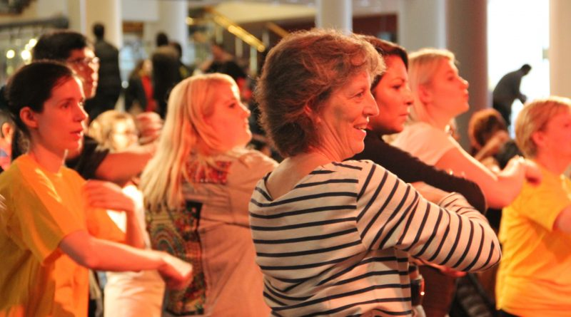 Fun and easy to follow steps were enjoyed by audience members