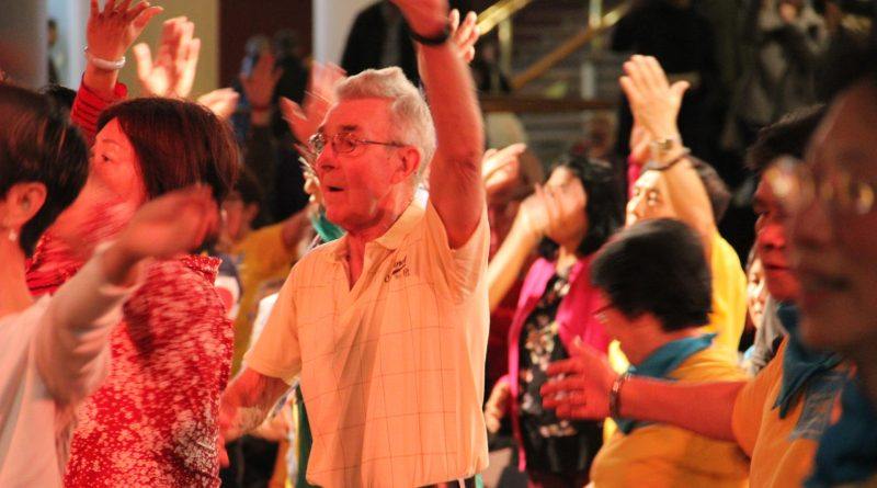 Audience from different walks of life joins the dance floor
